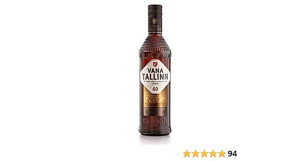 Vana Tallinn - Likör - 40% - Licor de ron estonio - 0,5l