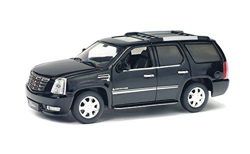 2003 Cadillac Escalade [Solido 421436190], Black, 1:43 The - Cadillac Model Black