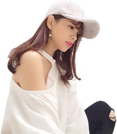 Fhuuly Mode Casquette de Baseball Unisexe Chapeau /à Pointe Hiphop Strapback Casquette de Baseball Snapback