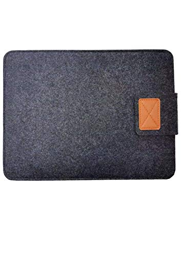Portable Foldable Laptop Stand Sleeve- 13 Inch, Felt Laptop Sleeve Case, Shockproof Laptop Bag