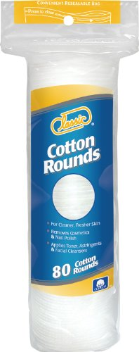 Classic Cotton Rounds, 80 Count