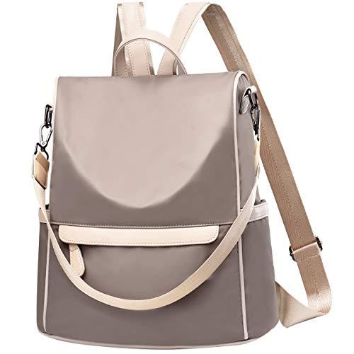 Charmore Women Travel Backpack Anti Theft Rucksack Nylon Waterproof Daypack Lightweight Shoulder Bags (Best Waterproof Daypack For Travel)