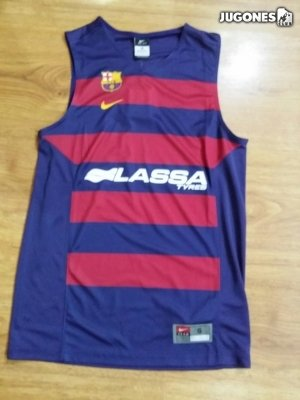 Nike FC Barcelona Replica Jersey Camiseta sin Mangas, Hombre ...
