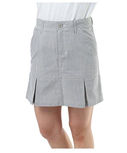 無駄に排出注釈オプスト ゴルフウェア スカート シアサッカースカート OP220308H02 GY S