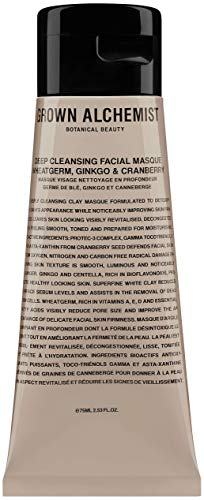 Grown Alchemist Deep Cleansing Facial Masque - Wheatgerm, Ginkgo & Cranberry (75ml / 2.53oz)
