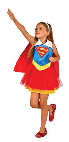 Imagine by Rubies Kids Supergirl Tank Dress Costume, One Size ()