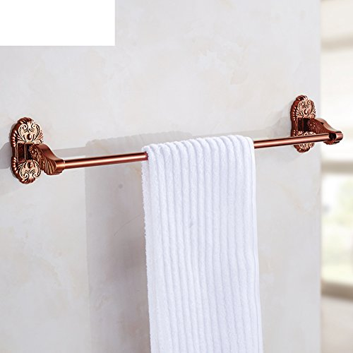 durable modeling continental rose bar towel rack bathroom towel bar