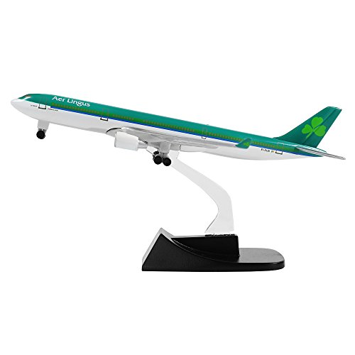 24-Hours Ireland Aer Lingus A330 Alloy Metal Plane Airplane Models