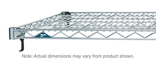 Metro A1860NC Super Adjustable Super Erecta Chrome Plated Steel Wire Shelf, 600 lb. Capacity, 1