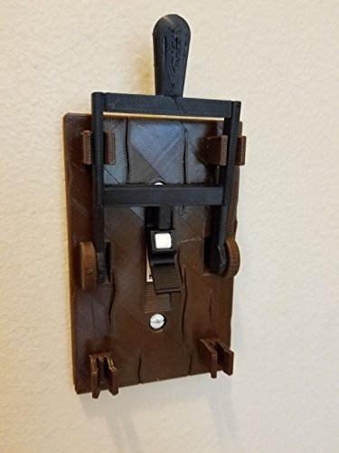 Frankenstein Light Switch Plate Halloween Medieval Mad Scientist Lab Minecraft Ghost Haunted Scary KillSwitch (Single Light Cover) -