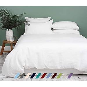 Kotton Culture Premium Duvet Cover 100% Egyptian Cotton 600 Thread Count with Zipper & Corner Ties Luxurious (Oversized…