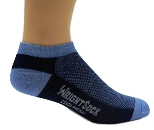 Wrightsock 504 Double Layer Coolmesh Low Quarter (Wrightsock Double Layer Running Quarter)