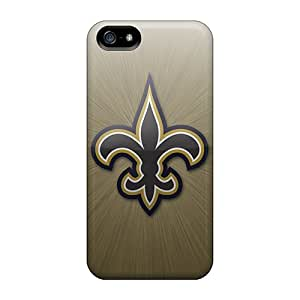 Durable New Orleans Saints Back Cases/covers For Iphone 5/5s