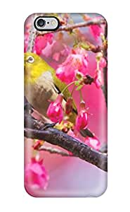5022391K22067114 durable Protection Case Cover For Iphone 6 Plus(mountain Cherry Bird)