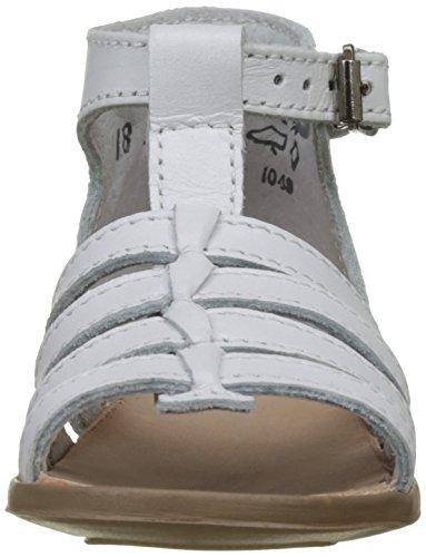 Bébé Pas Little Perlado Fille Blanc Hosmose Premiers Blanc Blanc Chaussures Mary IIXpS