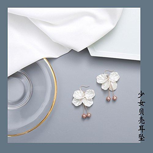 Cuff Jasmine (Korea Trend Earrings earings Dangler Eardrop Girls Handmade Gift Ideas Choice Jasmine Petals Long Dress up)