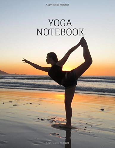Yoga notebook: Workbook,fitness, health and exercise good ...