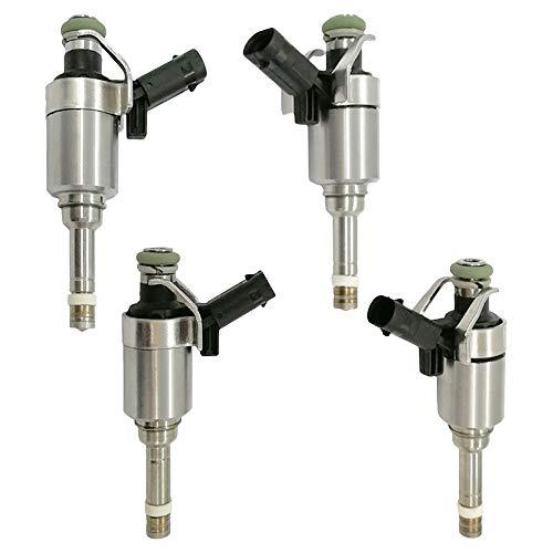 Automotive-leader 06H906036G 4pcs/set of Fuel Injectors Replacement for 2009-2014 VW Volkswagen CC GTI Tiguan Passat Jetta Audi A3 A4 A5 Q5 TT 2.0L