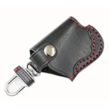 AWESOM Awesome Japanese-made luxury leather craft smart key case Black ASK-R02
