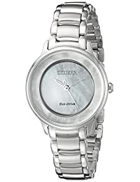 Citizen Women's L Circle of Time EM0380-81D Wrist Watches, Mother of Pearl Dial