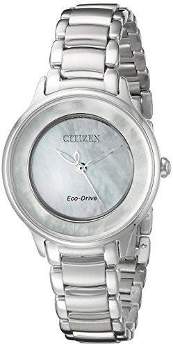 Citizen Eco-Drive Women's EM0380-81D Circle of Time Watch