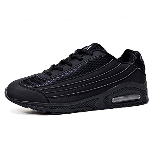 donna Sneaker Black Black Tech Air OpzxwzqE