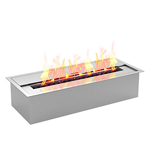 Regal Flame PRO 12 Inch Bio Ethanol Fireplace Burner Insert - 1.5 -