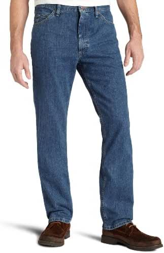 Lee Men's Regular Fit Straight Leg Jean, Antique Dark, 30W x 34L
