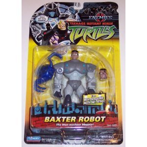 Amazon.com: TMNT Teenage Mutant Ninja Turtles Baxter Robot ...