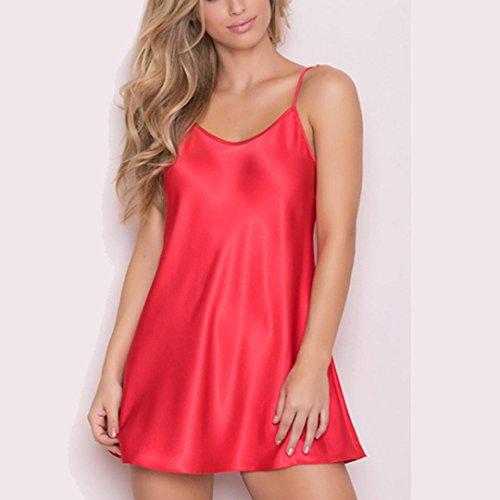 Forti Babydoll Biancheria Halter Abito Vestito Taglie Lingerie Donna String Sexy G Intimo Rosso Pigiami 4xIq6wcTY