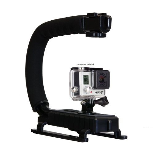 Opteka X-GRIP Professional Action Stabilizing Handle Specifically Made for GoPro HD Hero5, (Olympus Fisheye Camcorder)