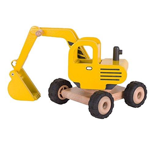 Goki 55898 Excavator Toy, Multi-Colour