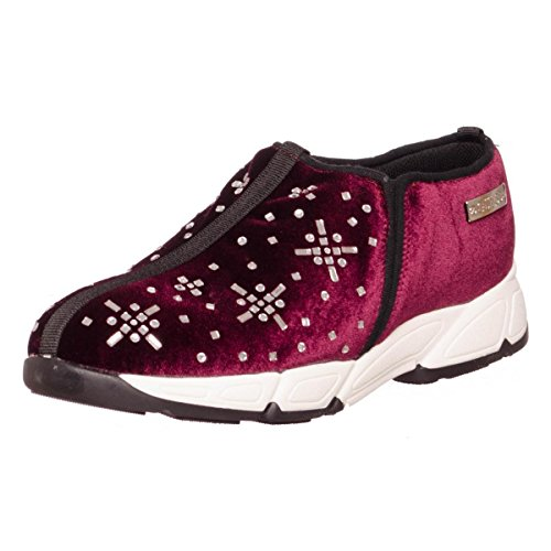Guess Lety donna, velluto, sneaker slip on