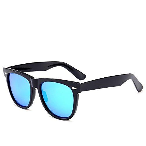 Mujeres Las Azul Conducci¨®n Negro Fygrend Deportiva Brillante Unisex G15 Sol UV400 Gafas Gafas de Classic de 2140 Vendimia de Gafas Hombres del Sol polarizadas de para Espejo de de la Pesca wUH1xfwqAp
