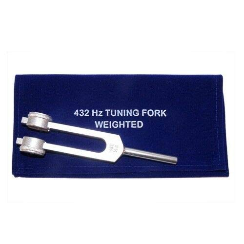 OM Industry Tuning Fork 432Hz with Free Mallet and Valvet Pouch