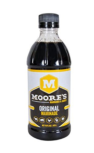 Moore's Original Marinade, 16-Ounce (Pack of 6) by Moore's
