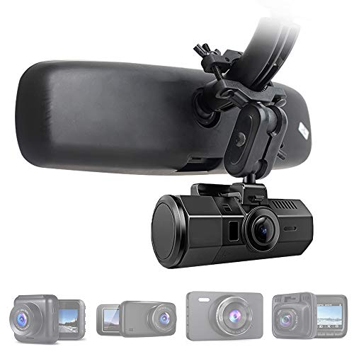 (Dash Cam Mirror Mount, Fit for 99% Dash Cam/DVR, for YI 2.7