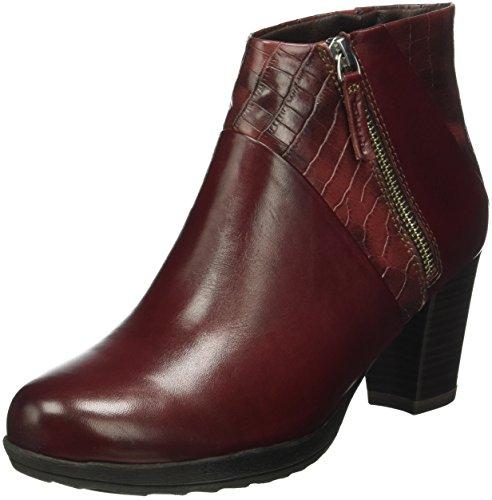 501 Femme Scarlet Bottes Rouge 25330 Classiques Tamaris XqwTxY4tAg