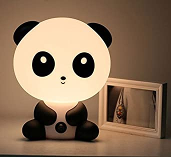 Captivating Cute Panda Cartoon Light LED Night Light Rechargeable Energy Saving Lamps  Small Table Lamp Creative Lamp Infant Feeding Baby Bedroom Bedside Lamp  Desk Lamps ...