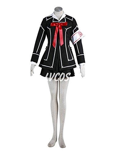 Vampire Knight Day Class Girl Costume (Anime Cosplay Costume Vampire Knight Day Class Female Uniform)