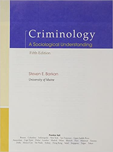 Criminology the core 5th edition | rent 9781285068909 | chegg. Com.