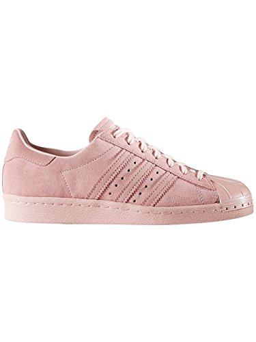 adidas Women's Superstar 80s Metal Toe W Fitness Shoes, Beige Pink (Roshel / Roshel / Roshel)