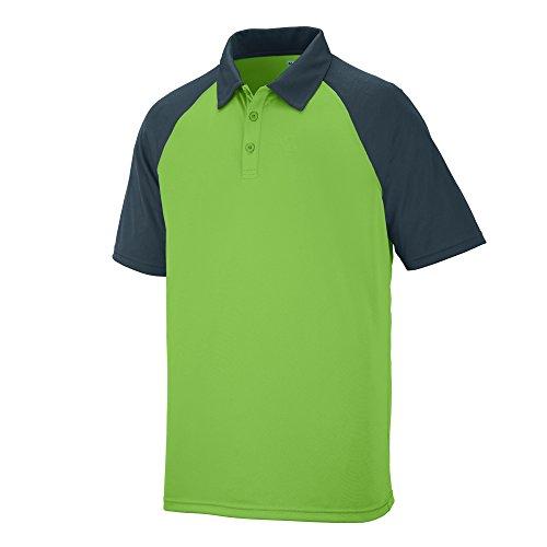 Augusta Sportswear Men's Scout Sport Shirt 2XL Lime/Slate
