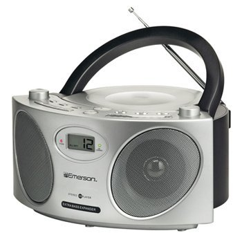 Emerson PD6810 Portable CD Boombox With AM/FM