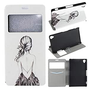 Kinston Butterfly Pattern PU Leather Full Body Case with Stand for Nokia Lumia 820