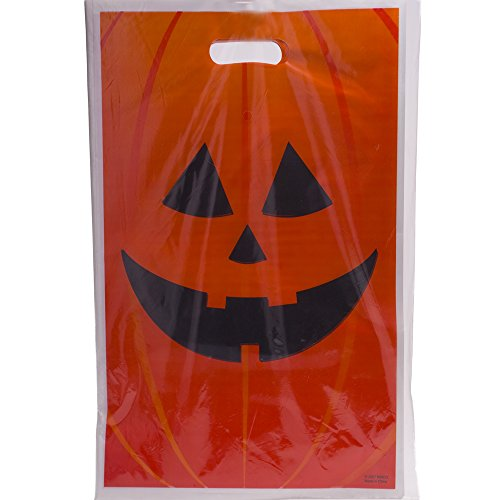 Jack O Lantern Trick Or Treat Bags; 50 Pack]()