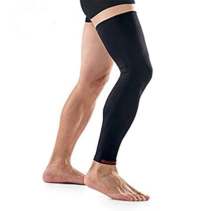 Naturehike 1pcs Calf Compression Knee Long Sleeve Leg Support (Full Length) for Running/Basketball/Sports/Cycling Seamless Leggings (M) by Naturehike