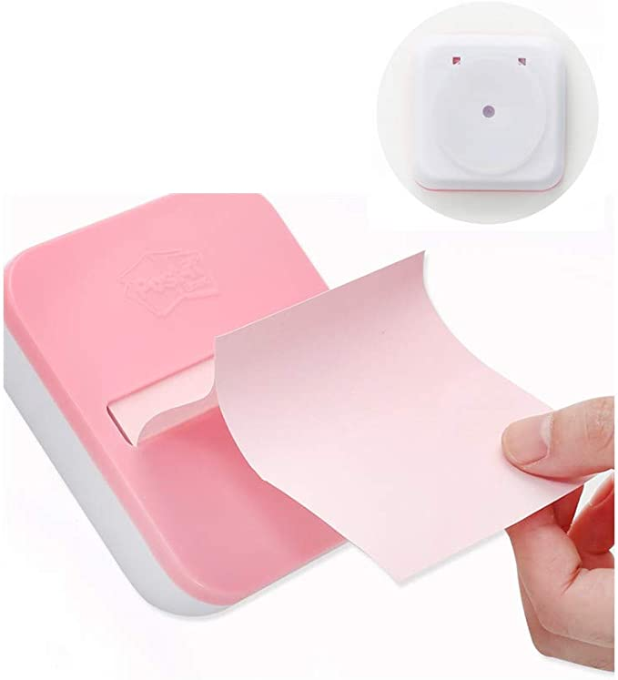 Pop-up Note Dispenser Creative Pumping Note with 100 Sheets Replaceable Note