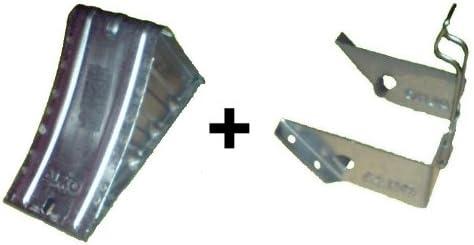 ALKO Unterlegkeil UK36 Hemmschuh Metall verzinkt 1600kg 120mm breit  UK 36 AL-KO