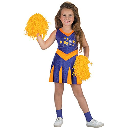 [Child's Kim Possible Cheerleader Halloween Costume (Size: Large 7-8)] (Halloween Costumes Of Cheerleaders)